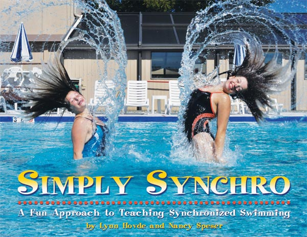 cover of 'Simply Synchro' by Lynn Hovde and Nancy Speser, 88 pages, spiral bound, glossy pages, durable cover